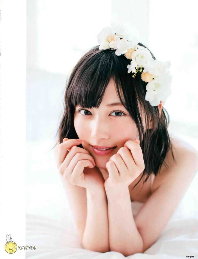 【山下美月グラビア画像】ハタチになっても相変わらず美少女感があって可愛いねぇ! 75
