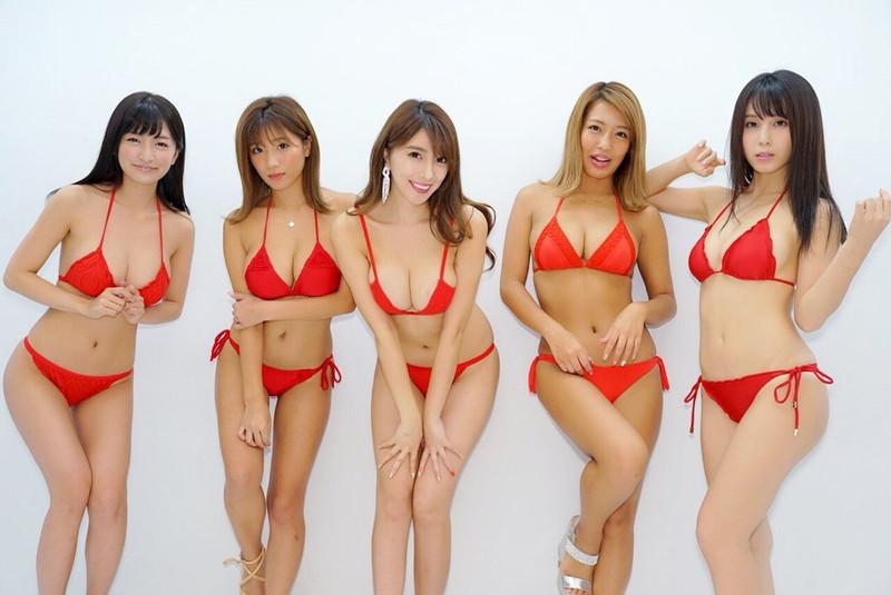 【ギャルエロ画像】GカップしかいないR・I・Pガールズとかいうギャル集団wwww