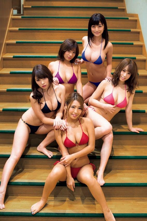 【ギャルエロ画像】GカップしかいないR・I・Pガールズとかいうギャル集団wwww 03