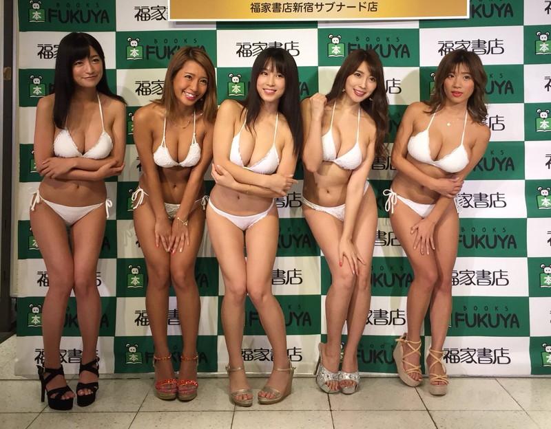 【ギャルエロ画像】GカップしかいないR・I・Pガールズとかいうギャル集団wwww 56