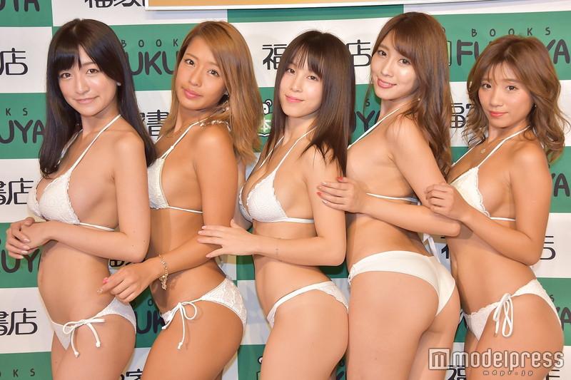 【ギャルエロ画像】GカップしかいないR・I・Pガールズとかいうギャル集団wwww 57