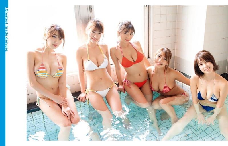 【ギャルエロ画像】GカップしかいないR・I・Pガールズとかいうギャル集団wwww 67