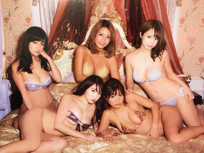 【ギャルエロ画像】GカップしかいないR・I・Pガールズとかいうギャル集団wwww 80