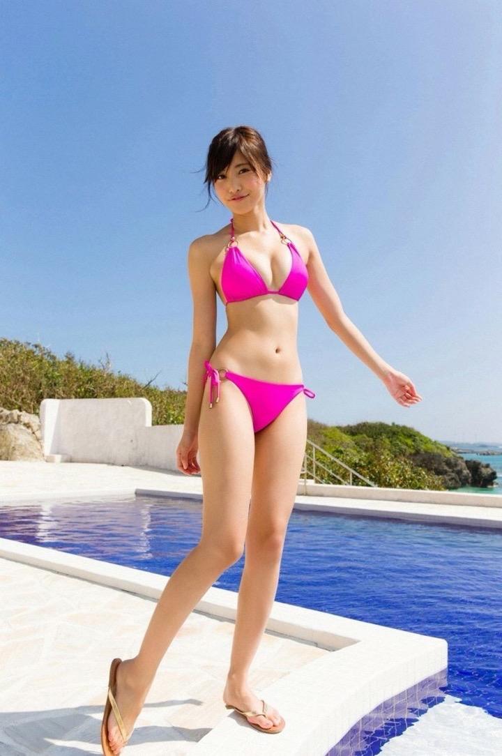 【グラドルくびれエロ画像】腰のクビレが凄い!エロい!グラビアアイドル画像 54