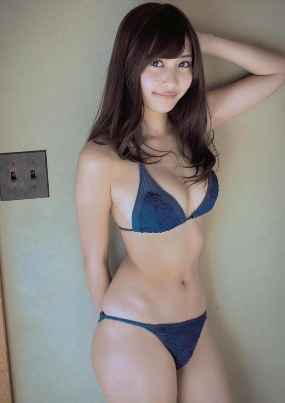 【グラドルくびれエロ画像】腰のクビレが凄い!エロい!グラビアアイドル画像 70