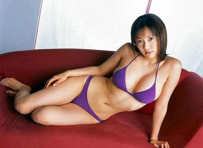 【海江田純子グラビア画像】Gカップバストにくびれウエストの曲線ボディがエロい! 08