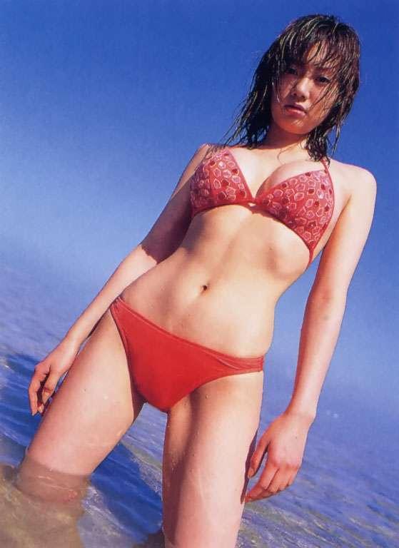 【海江田純子グラビア画像】Gカップバストにくびれウエストの曲線ボディがエロい! 15