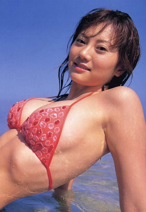 【海江田純子グラビア画像】Gカップバストにくびれウエストの曲線ボディがエロい! 16