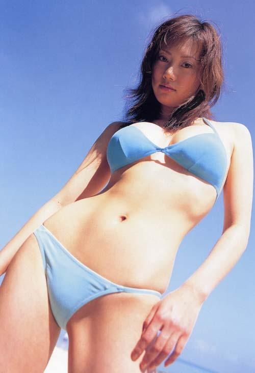 【海江田純子グラビア画像】Gカップバストにくびれウエストの曲線ボディがエロい! 18