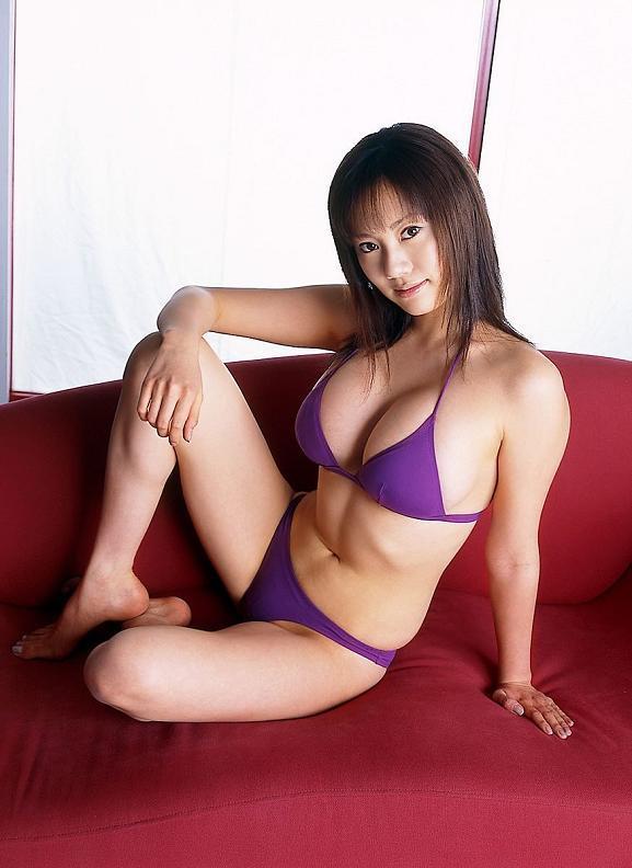 【海江田純子グラビア画像】Gカップバストにくびれウエストの曲線ボディがエロい! 19