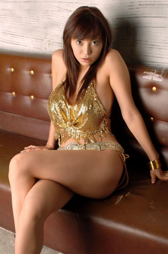 【海江田純子グラビア画像】Gカップバストにくびれウエストの曲線ボディがエロい! 38