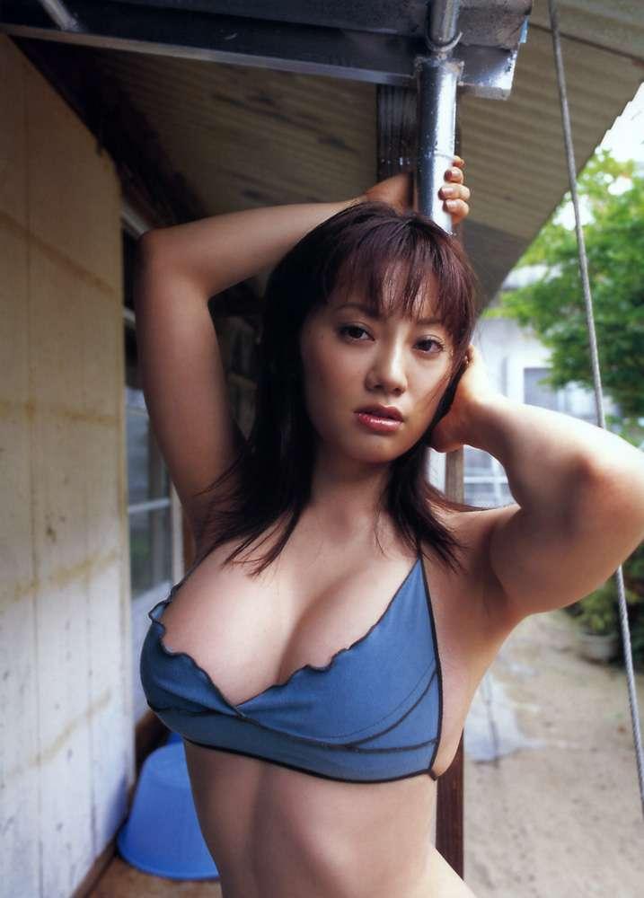 【海江田純子グラビア画像】Gカップバストにくびれウエストの曲線ボディがエロい! 61