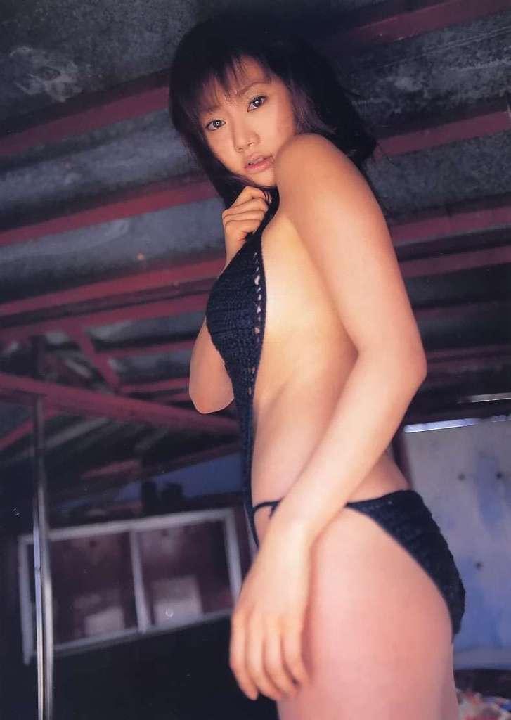 【海江田純子グラビア画像】Gカップバストにくびれウエストの曲線ボディがエロい! 64