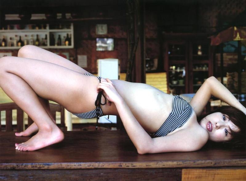 【倉本清子グラビア画像】和希沙也名義で活動していた時代のセクシービキニ写真 20