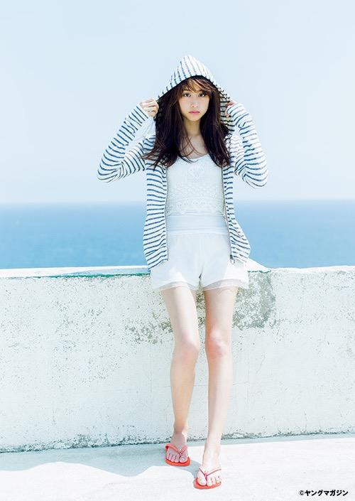 【山本美月グラビア画像】元CanCam専属モデルのスタイル抜群スレンダー美女 27