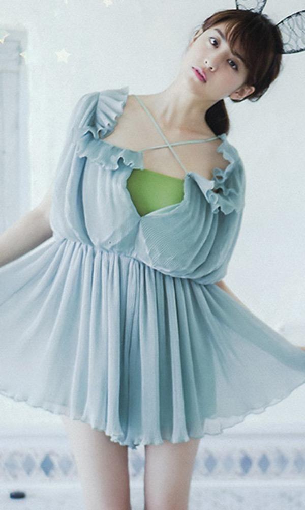 【山本美月グラビア画像】元CanCam専属モデルのスタイル抜群スレンダー美女 47