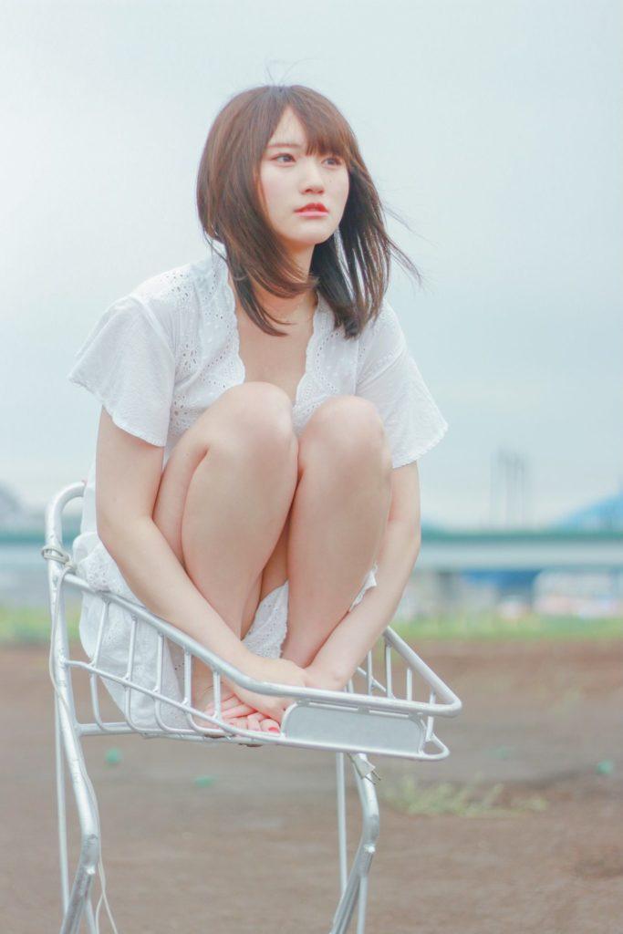 【そよんエロ画像】生まれも育ちも東京の韓国人モデルが披露するエロカワ写真 20