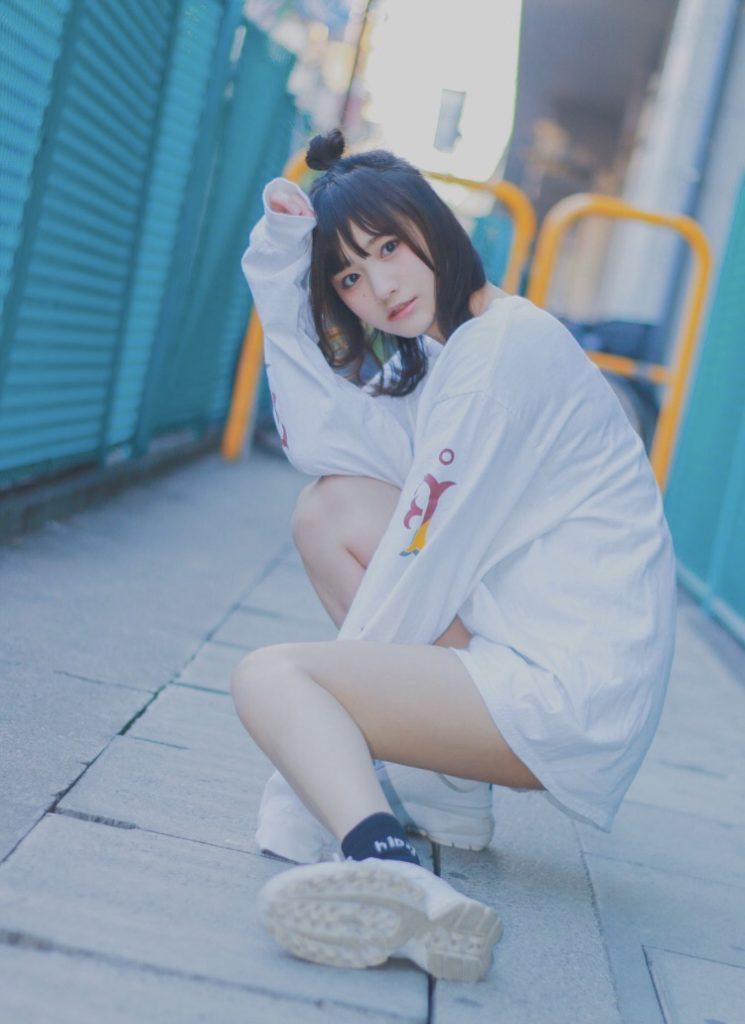 【そよんエロ画像】生まれも育ちも東京の韓国人モデルが披露するエロカワ写真 49