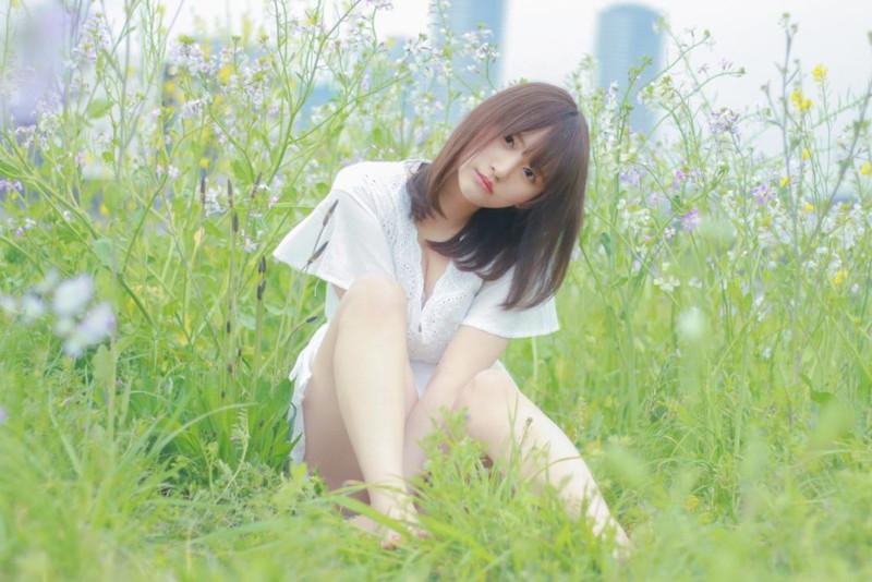 【そよんエロ画像】生まれも育ちも東京の韓国人モデルが披露するエロカワ写真 73
