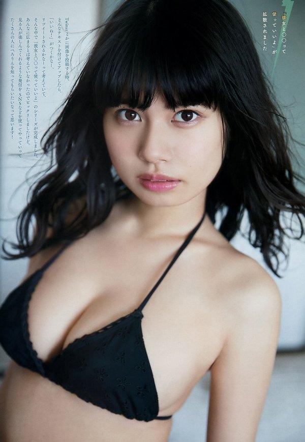 【鹿目凛エロ画像】流行りのおうちグラビアで胸元が見えまくりな姿を見せちゃったw 42