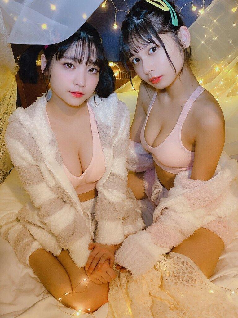 【鹿目凛エロ画像】流行りのおうちグラビアで胸元が見えまくりな姿を見せちゃったw 59