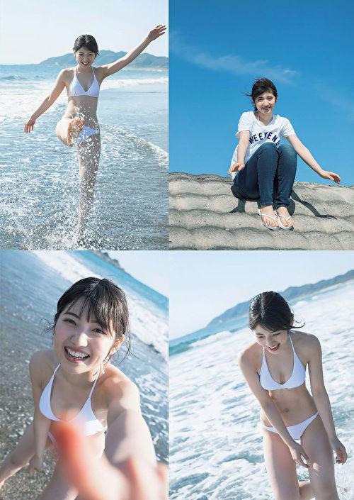 【村山彩希グラビア画像】画像加工したんじゃないかって思うくらい腰が細いAKBアイドル 06