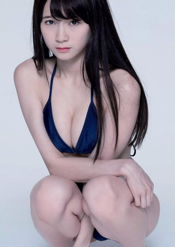 【金子理江グラビア画像】放課後ツインテールに参加した事がある美少女の水着姿 18