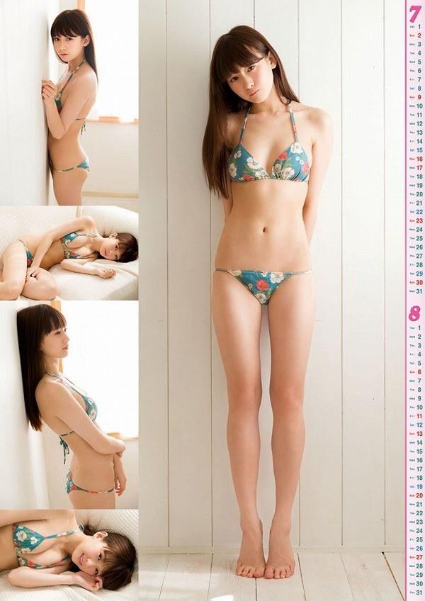 【金子理江グラビア画像】放課後ツインテールに参加した事がある美少女の水着姿 30