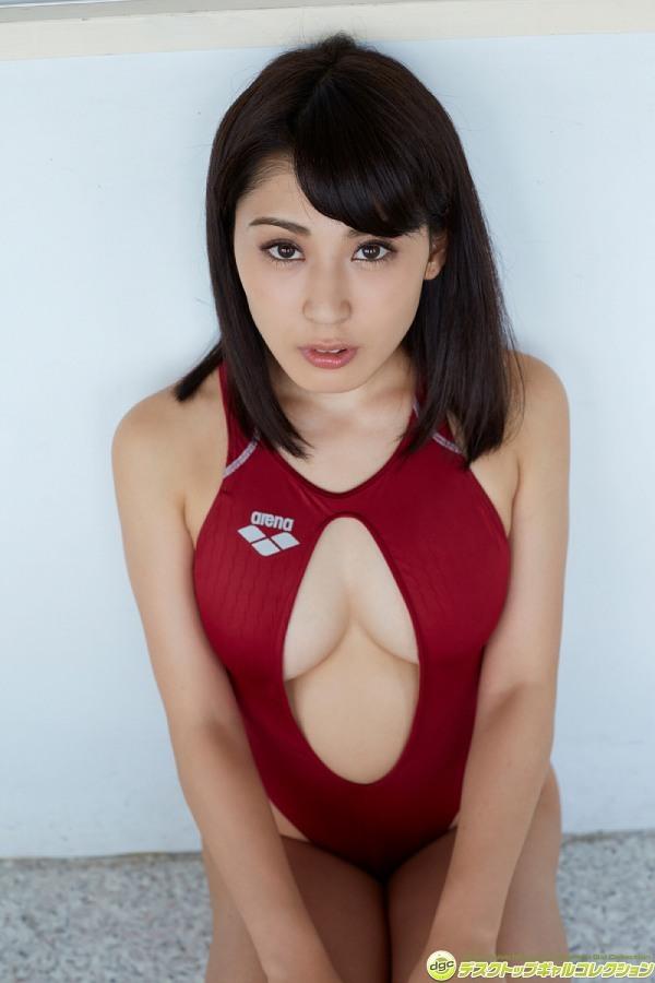 【金子智美グラビア画像】AKB48元研究生がグラドルに転身してFカップ巨乳を見せちゃった 32