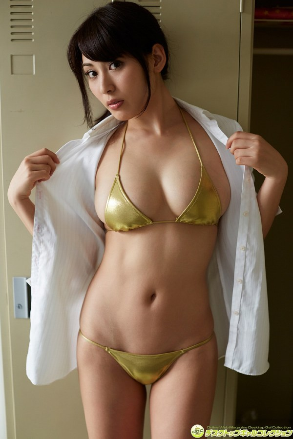 【金子智美グラビア画像】AKB48元研究生がグラドルに転身してFカップ巨乳を見せちゃった 36