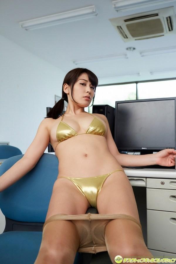 【金子智美グラビア画像】AKB48元研究生がグラドルに転身してFカップ巨乳を見せちゃった 44
