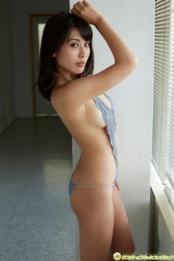 【金子智美グラビア画像】AKB48元研究生がグラドルに転身してFカップ巨乳を見せちゃった 49