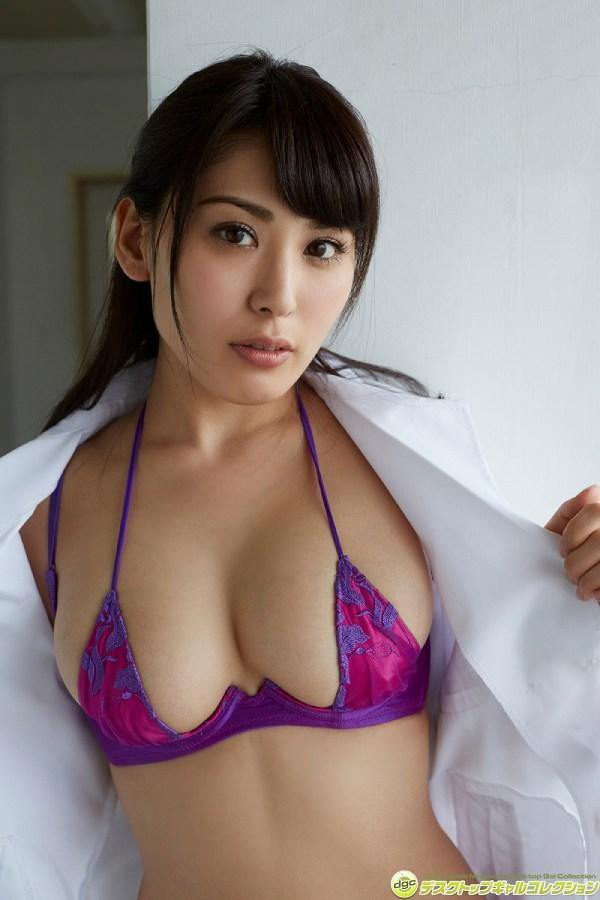 【金子智美グラビア画像】AKB48元研究生がグラドルに転身してFカップ巨乳を見せちゃった 63