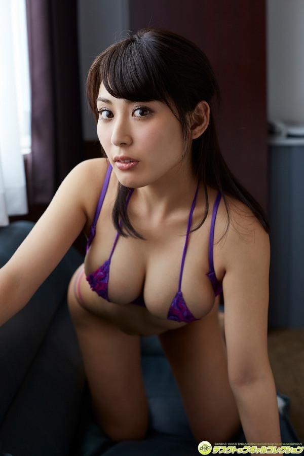 【金子智美グラビア画像】AKB48元研究生がグラドルに転身してFカップ巨乳を見せちゃった 79