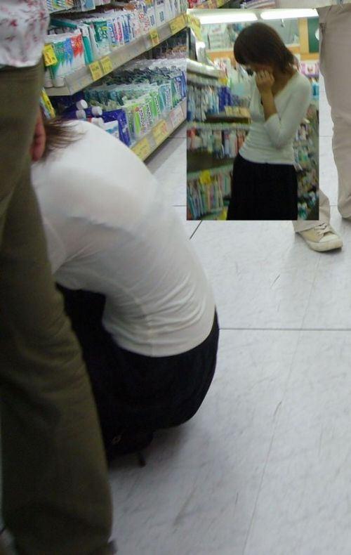 【透けブラエロ画像】ブラウスから薄っすら透けて見えるOLの下着に興奮するwwww 26