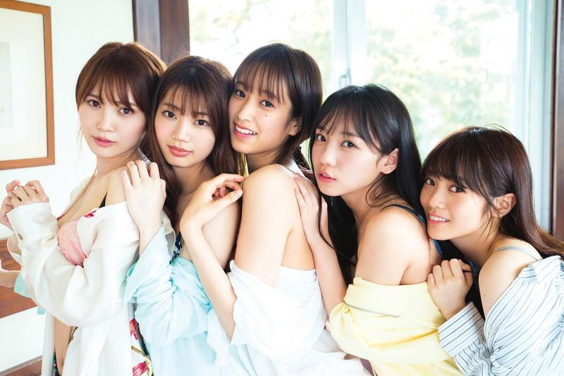 【日向坂46グラビア画像】可愛くてちょっぴりセクシーな美少女達が集うアイドルユニット