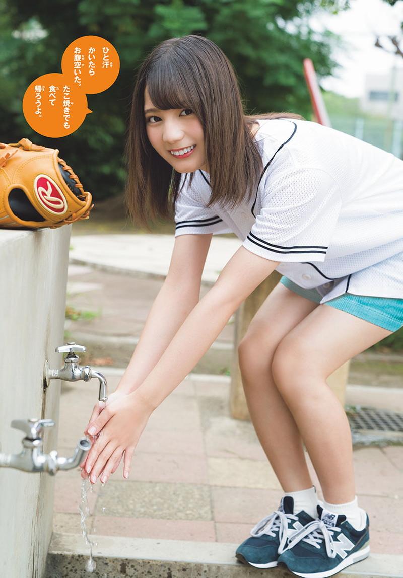 【日向坂46グラビア画像】可愛くてちょっぴりセクシーな美少女達が集うアイドルユニット 04