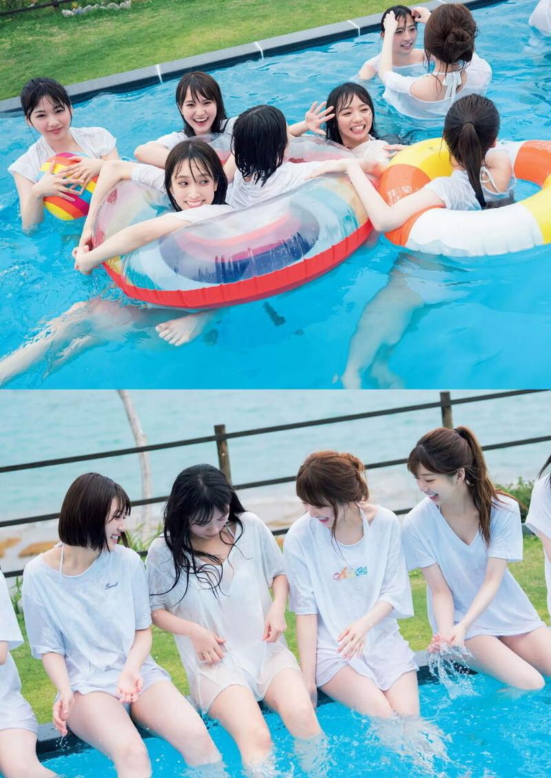 【日向坂46グラビア画像】可愛くてちょっぴりセクシーな美少女達が集うアイドルユニット 80