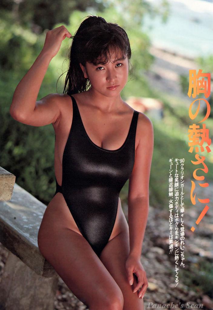 【かとうれいこお宝画像】レジェンドグラドルの昔懐かしい水着画像を集めてみたw 46