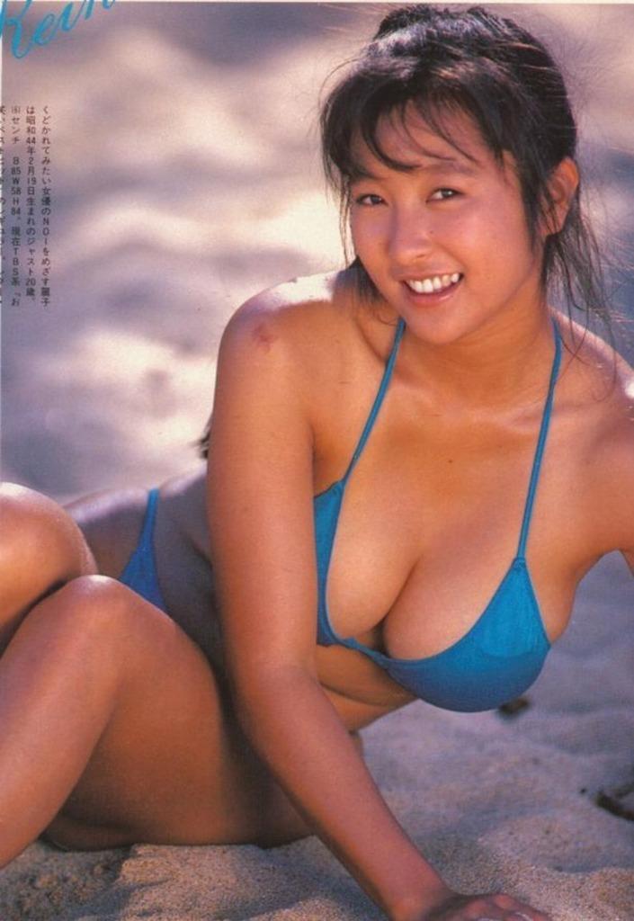 【かとうれいこお宝画像】レジェンドグラドルの昔懐かしい水着画像を集めてみたw 47