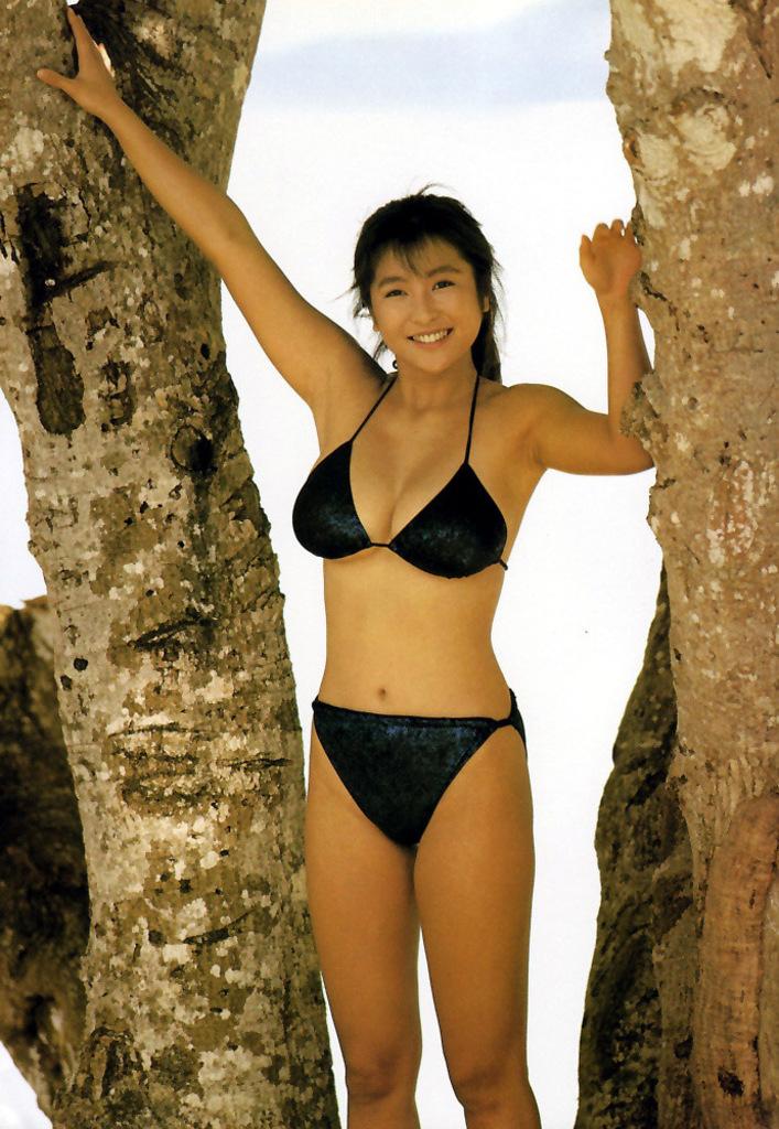 【かとうれいこお宝画像】レジェンドグラドルの昔懐かしい水着画像を集めてみたw 49