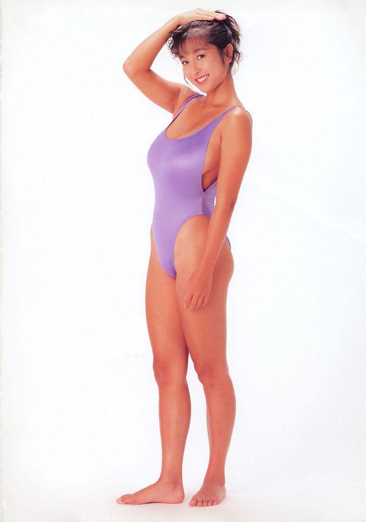 【かとうれいこお宝画像】レジェンドグラドルの昔懐かしい水着画像を集めてみたw 57