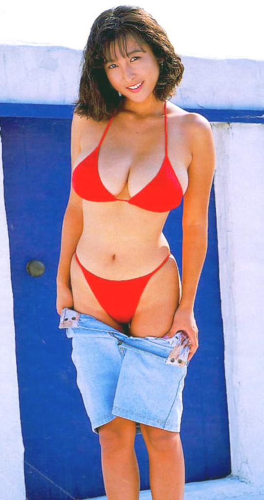 【かとうれいこお宝画像】レジェンドグラドルの昔懐かしい水着画像を集めてみたw 71