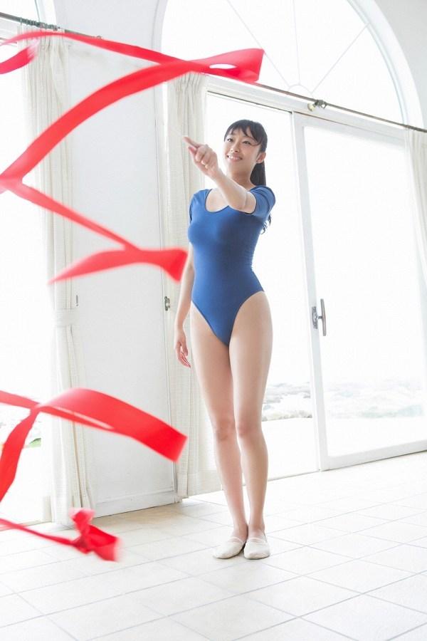 【木村涼香グラビア画像】新体操で培ったしなやかなEカップ巨乳ボディがエロい! 18