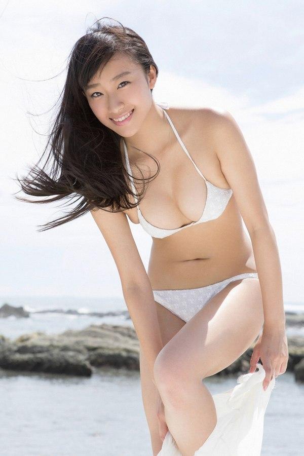 【木村涼香グラビア画像】新体操で培ったしなやかなEカップ巨乳ボディがエロい! 24