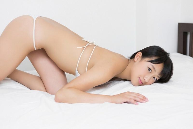【木村涼香グラビア画像】新体操で培ったしなやかなEカップ巨乳ボディがエロい! 46