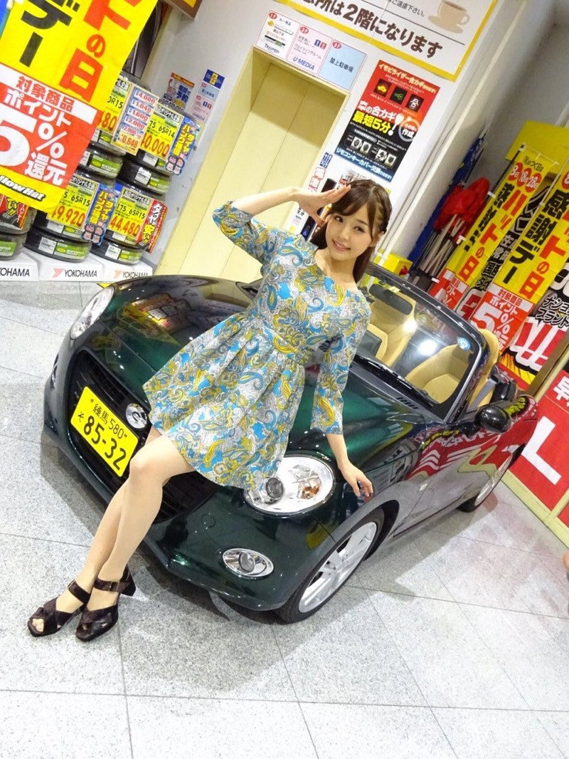 【川村那月グラビア画像】Fカップボディで初水着姿を披露したレースクイーン美女 48