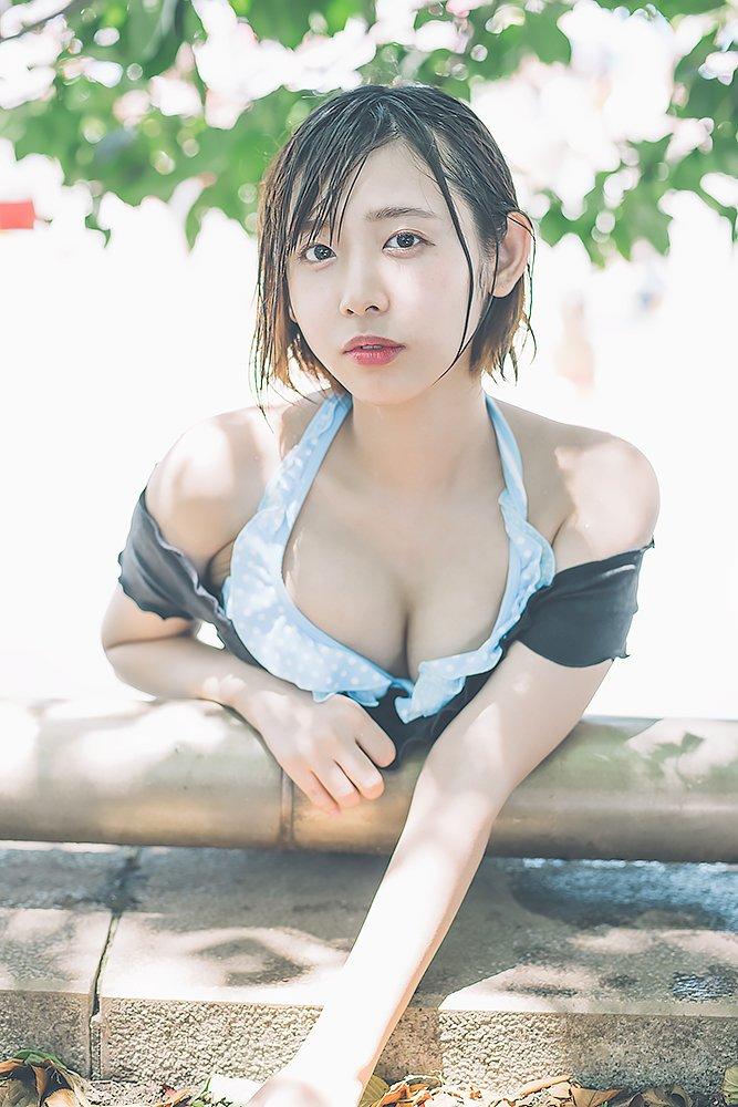 【水湊みおエロ画像】スレンダーでくびれたボディラインがめちゃシコい新人アイドル 18