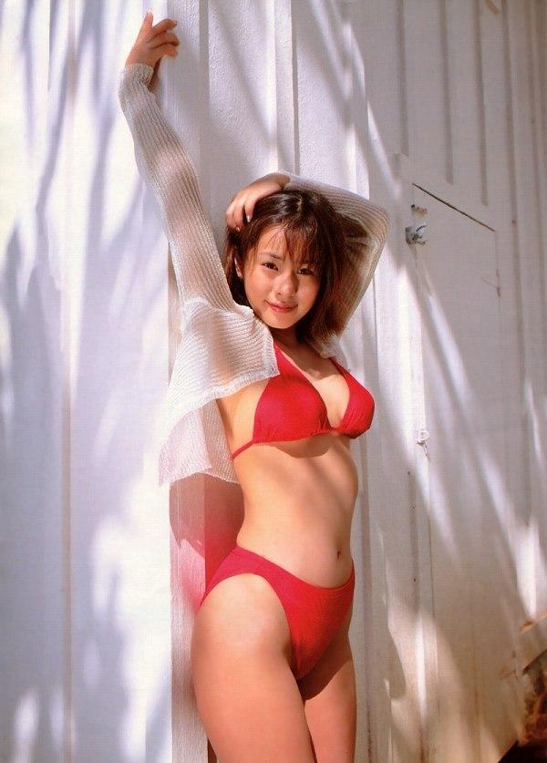 【さとう珠緒お宝画像】戦隊ヒロインやミニスカポリスだった熟女の懐かしい水着姿 58