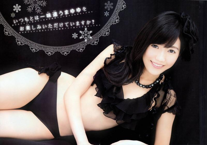 【渡辺麻友お宝画像】突然芸能界引退を発表した元AKBアイドルのグラビア写真